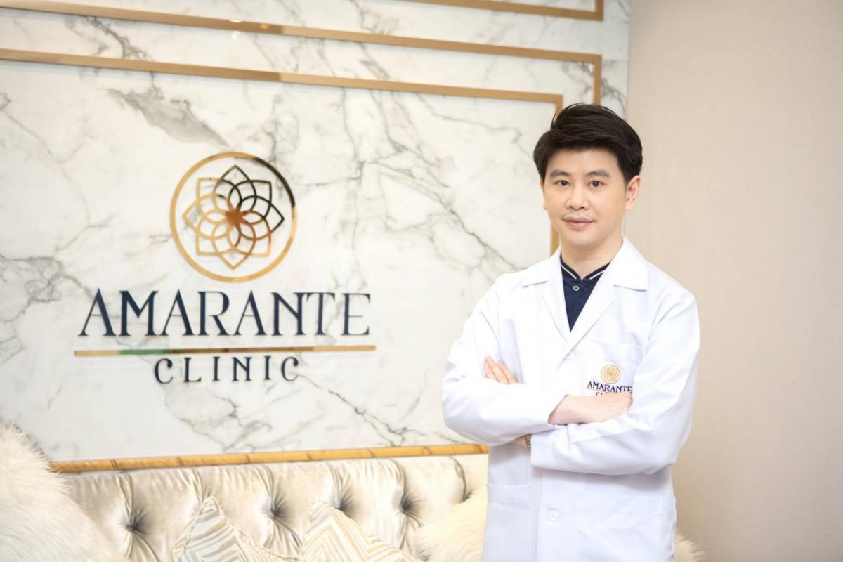 Amarante clinicปรับแก้ไขโครงสร้างใบหน้าให้ดูละมุน มีมิติมากขึ้นโดย หมอต้น นพ.สฤษดิ์ ตันติอภิชาติ อาจารย์แพทย์สอนฉีดฟิลเลอร์อันดับต้น ๆ ในไทย