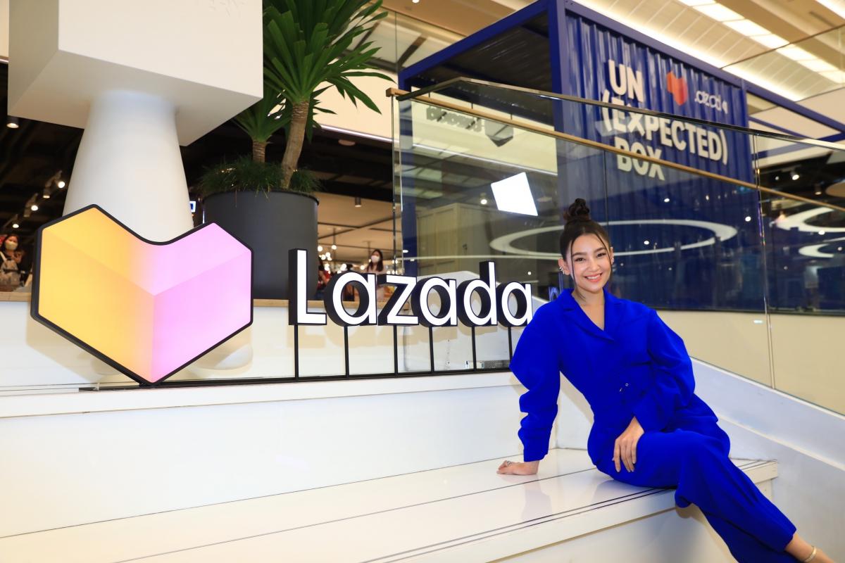 ครั้งแรกของวงการอีคอมเมิร์ซไทย ผ่าน Pop Up นิทรรศการศิลปะสุดอลังการ 'Lazada Un(Expected) Box'