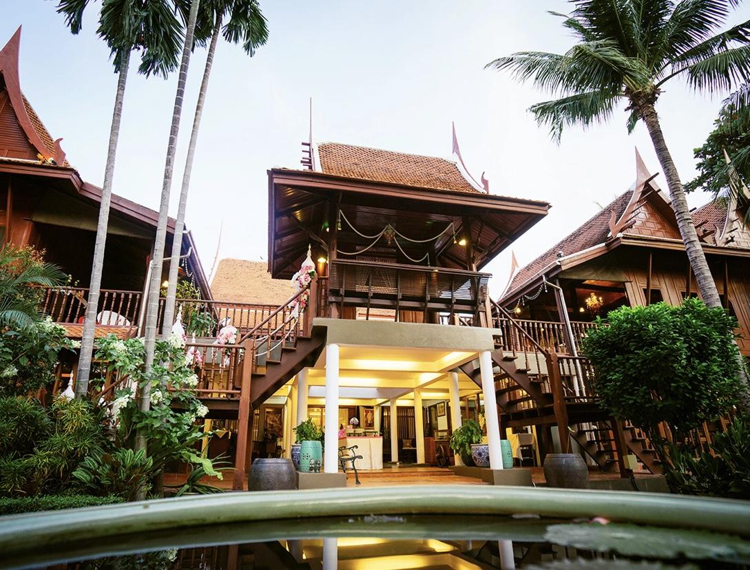 รีวิวDhabkwan Resort ทับขวัญ รีสอร์ทอาหารไทยและบ้านเรือนไทย นนทบุรี