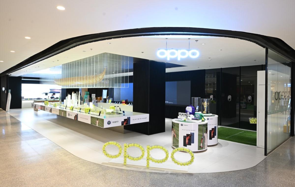 OPPO x Tennis 2021 PLAY WITH HEART จัดกิจกรรมชวนเหล่าผู้ชื่นชอบเทนนิสมาร่วมโชว์ฝีมือที่ OPPO Biggest Flagship Store ณ CentralwOrld