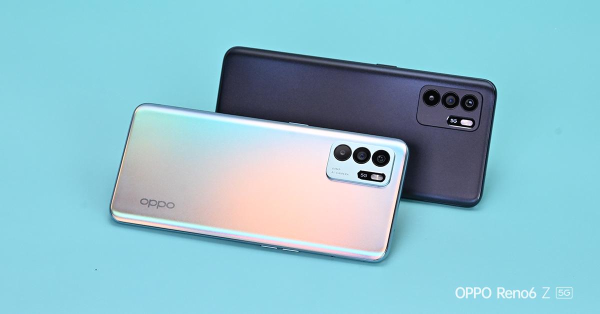 """ออปโป้ เปิดตัว """"OPPO Reno6 Z 5G"""" มอบสุดยอดประสบการณ์การถ่ายภาพและวิดีโอพอร์ตเทรตที่สวยที่สุดในทุกอารมณ์"""